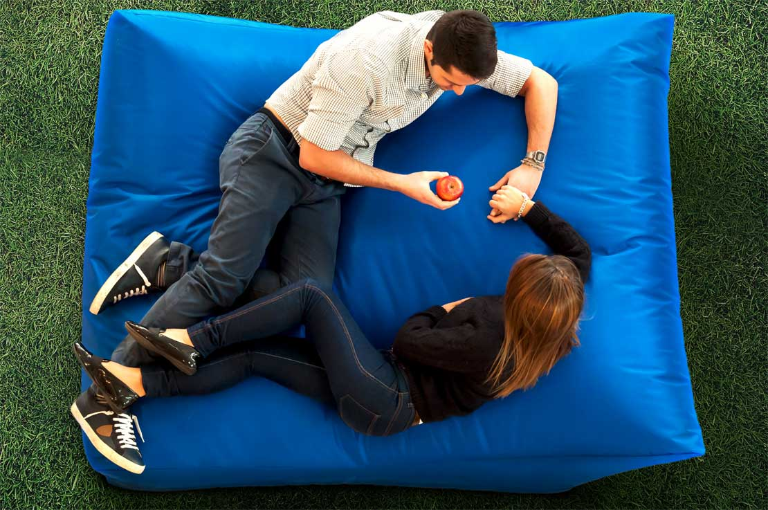 Sofa Soft Bedò XXL - The beanbag-bed