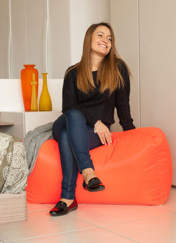 Sofa Soft Duokubò Soft - Use it as beanbag chair or as support base