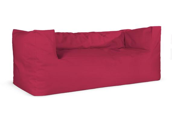 Sofa soft mod xxl in microfibra fucsia il divano for Divano fucsia
