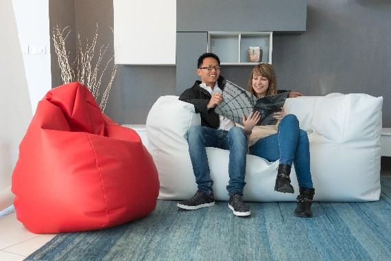 The softer sofa for two in the world