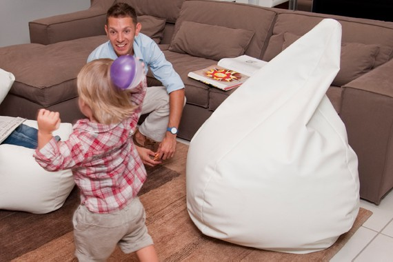 Poirò Maxi: the jant bean bag by Sofa Soft