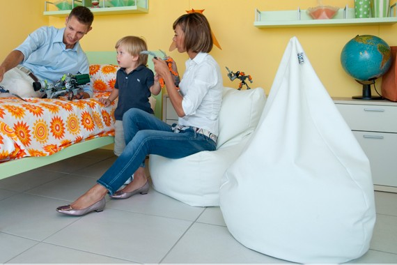 Poirò Mini: the soft bean bag chair for childrens by SofaSoft