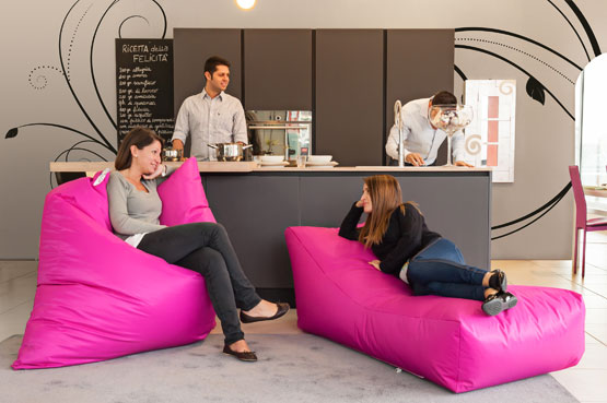 Sofa Soft Softò - The big rectangular beanbag chair